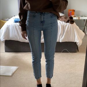 Storets light wash high waisted jeans